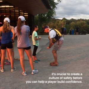 Building a Player's Confidence