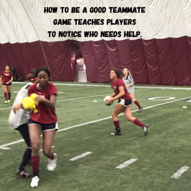 How To Be a Good Teammate Game