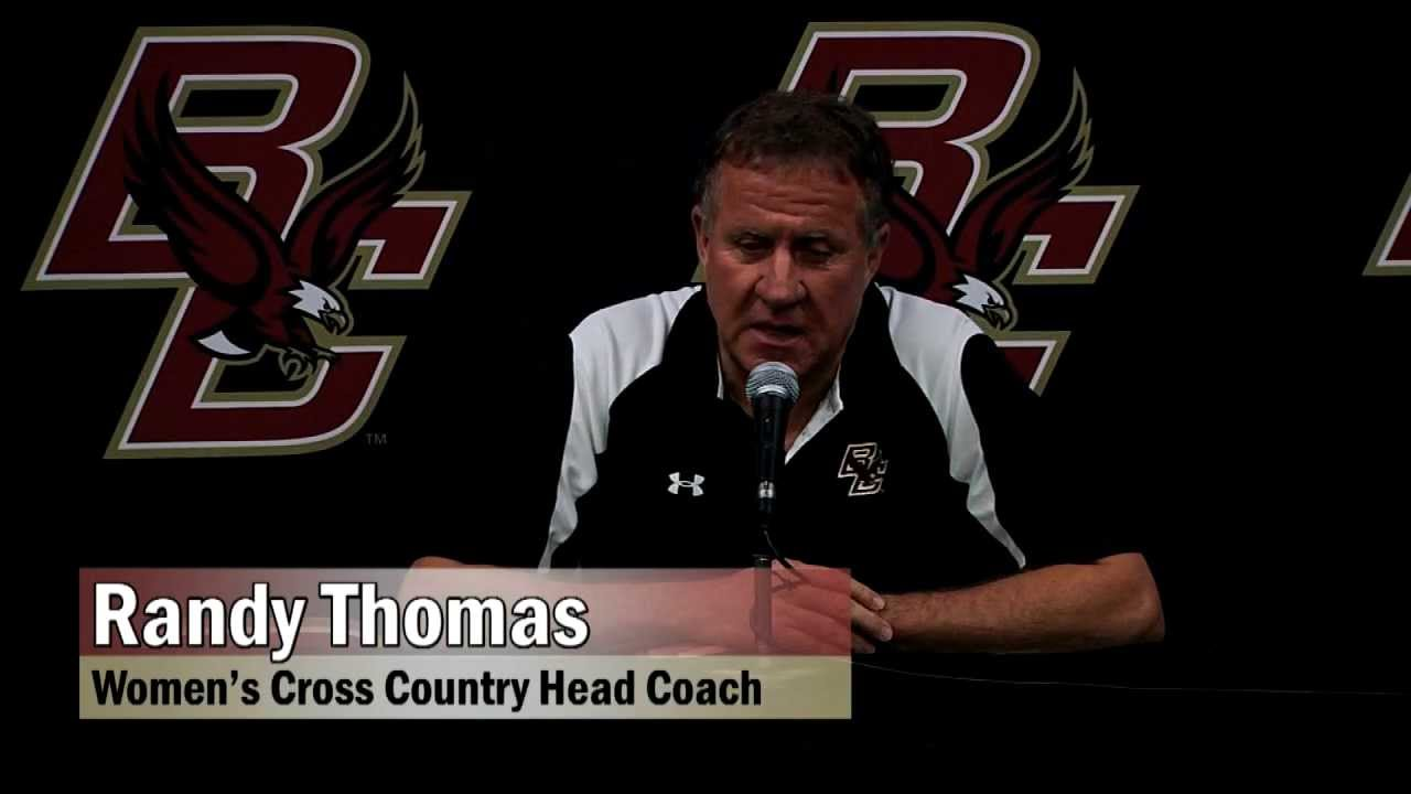 Randy Thomas Boston College Head Coach Women's Track and Field