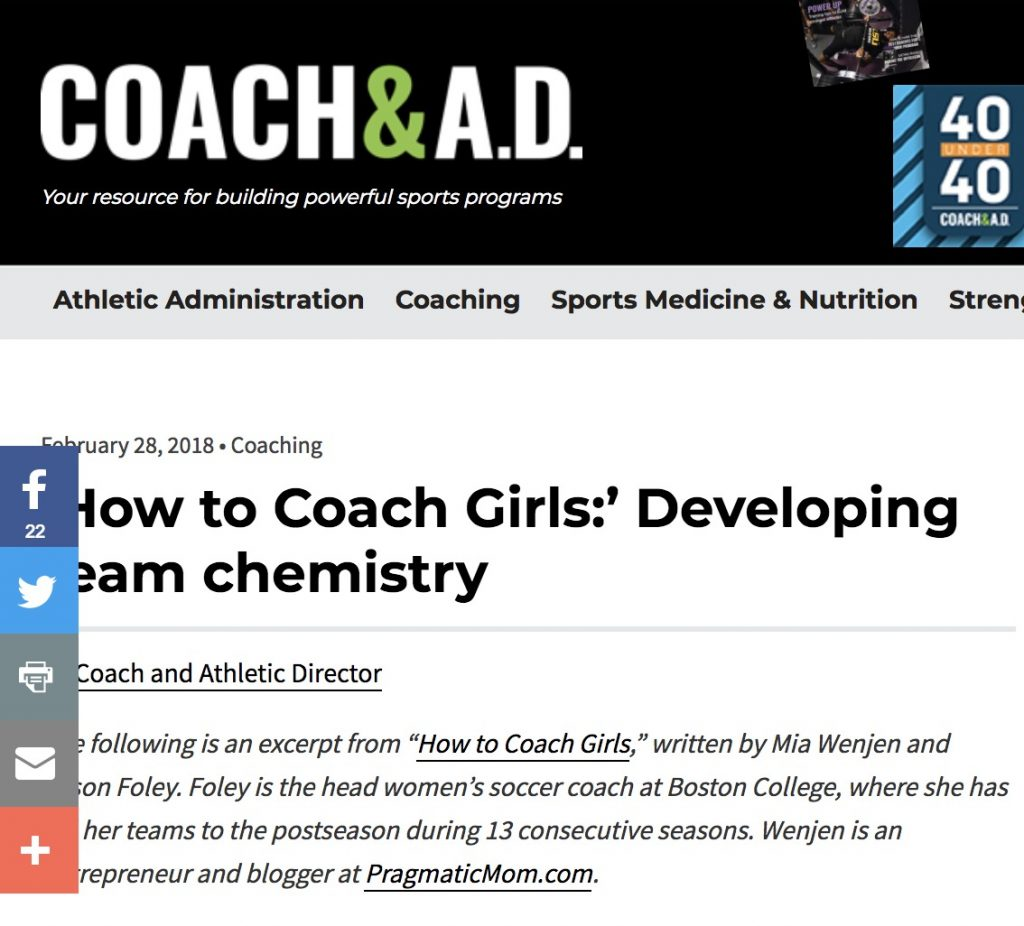 Coach & A.D. How To Coach Girls